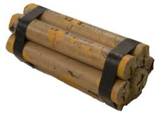 Invención de la dinamita.