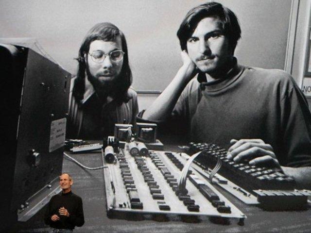 Steve Jobs Meets Wozniak