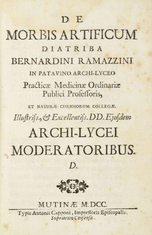 1700 Bernardino Ramazzini