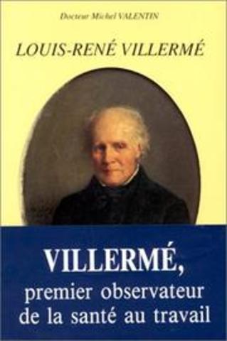 1840 Louis Rene Villerme