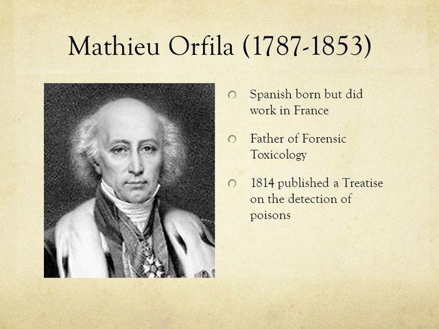1852 Mateo Orfila