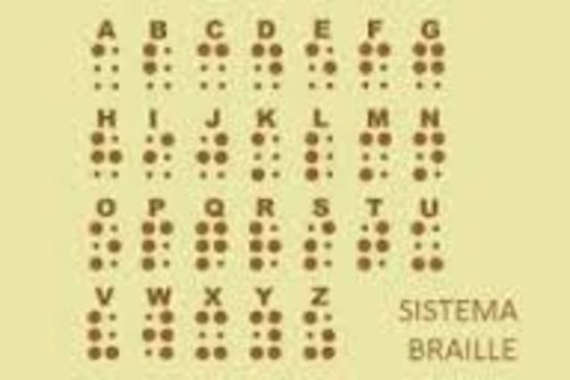 Sistema Braille y segadora trilladora