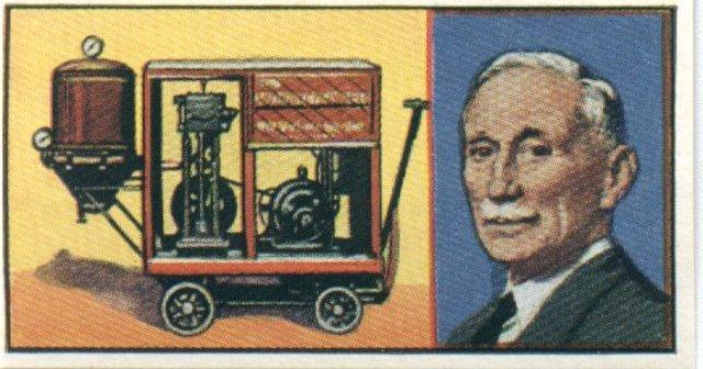 Hubert Booth inventa el aspirador.