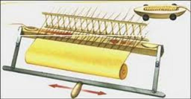 Invención de la lanzadera volante