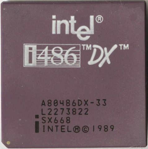 Microprocesador 80486DX