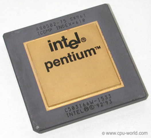 """Nacimiento del Procesador """"PENTIUM"""" (P54C)"""