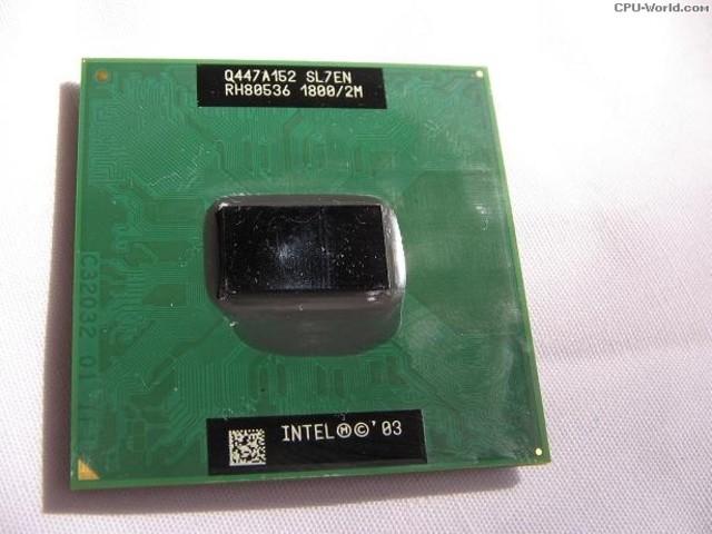 Microprocesador Pentium M