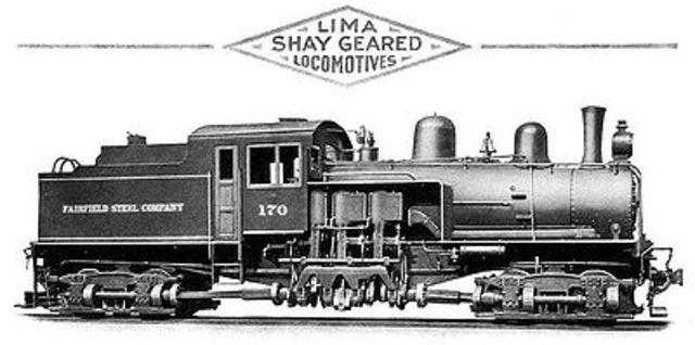 Aparición de la locomotora