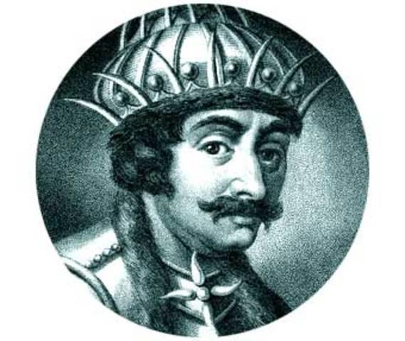 Teodorico, rey de los ostrogodos, vence a Odoacro en el Isonzo y emprende la conquista de Italia.