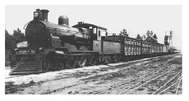 Primera red ferroviaria de de Inglaterra.