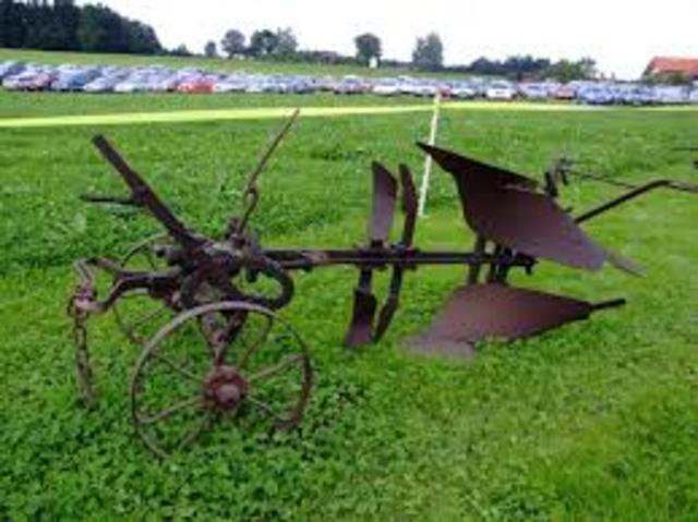 Jhon Deere inventa el arado de acero