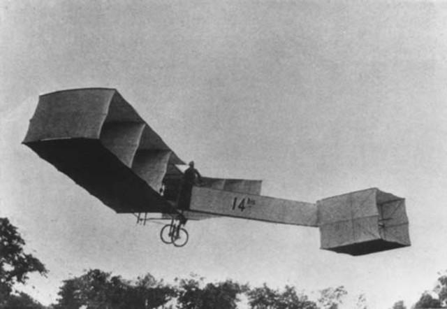 Invención de la maquina de volar