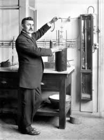 Invención de la lampara de neón