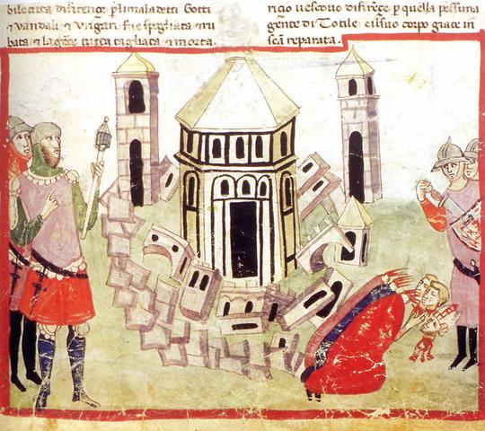 Totila se apodera de Roma