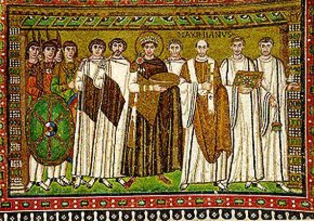 Los Bizantinos se apoderan del sur de la Península Ibérica