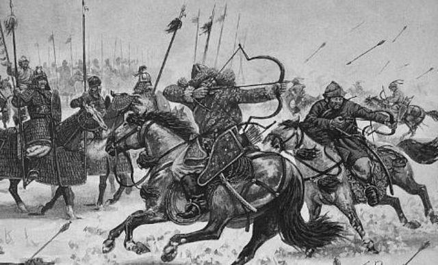 invasión de hunos y eslavos en la península Balcánica