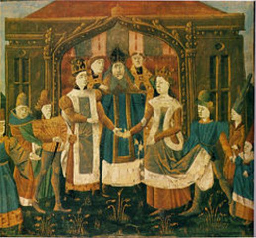 Asesinato de Sigiberto, rey de Austrasia
