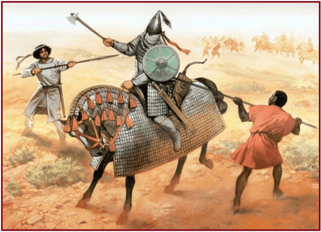 los árabes conquistan Mesopotamia