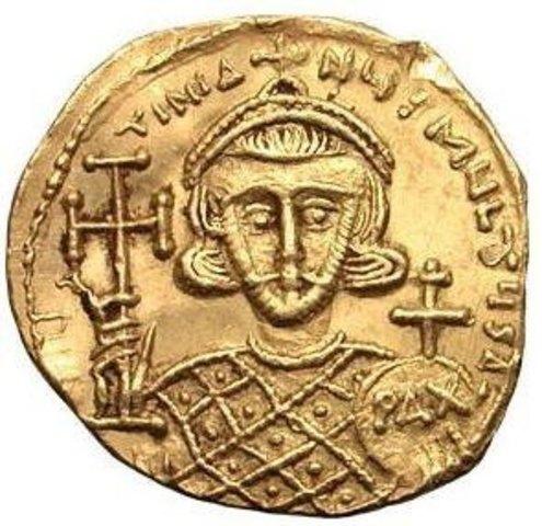 Justiniano II, emperador de Bizancio