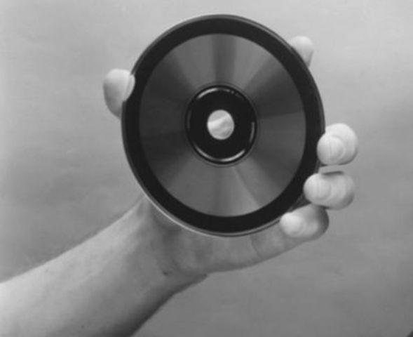 Primeros cds de Sony y Philips