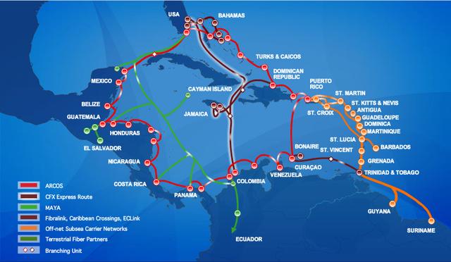 se finaliza el cable TAT submarino de comunicaciones entre EEUU y  Europa de 5870 km