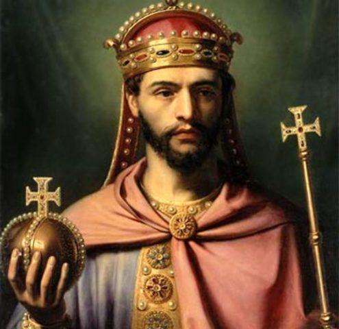Luis el Piadoso Funda la Marca Hispánica