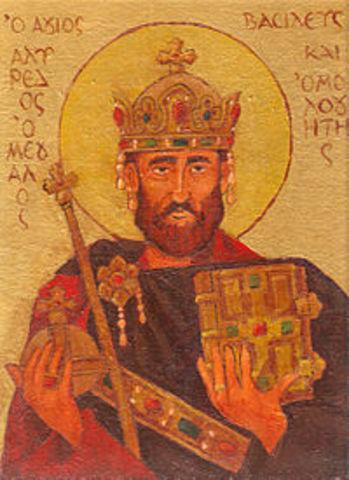 Muere Alfredo el Grande