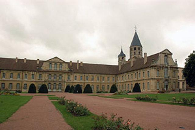 Fundación de la abadía de Cluny, Borgoña