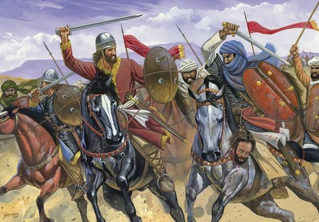 Los cristianos vencen a los musulmanes en San esteban de Gormaz