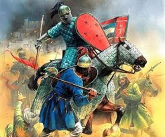 Los Bizantinos renuevan guerra contra musulmanes