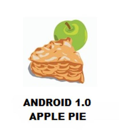 Android 1.0 Nivel de API 1 (Apple Pie)