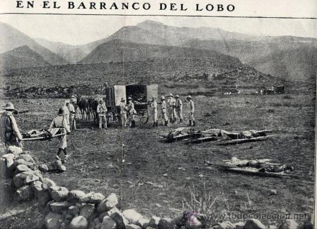 Massacre al Barranco del Lobo (Setmana Tràgica)