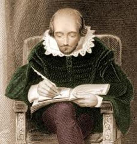 Shakespeare comienza a componer