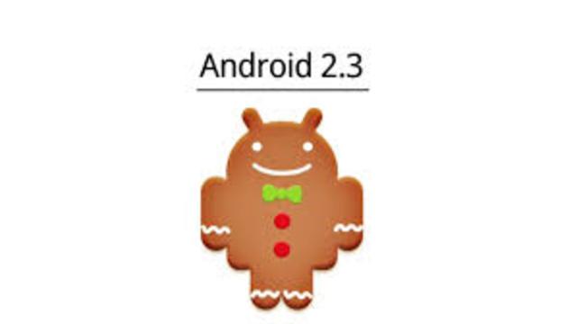Android 2.3, Nivel de API 9 (Gingerbread)