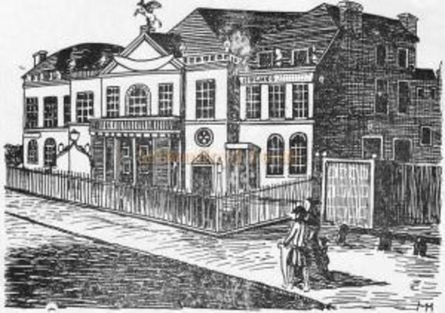 Los hombres del rey asumir un contrato de arrendamiento de 21 años del primer teatro permanente adjunto de Londres, el teatro de Blackfriars en este año