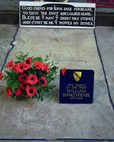 la muerte de William Shakespear