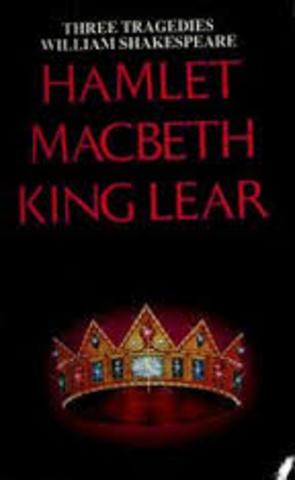 rendimiento del mercader de Venecia / composición del rey Lear y Macbeth