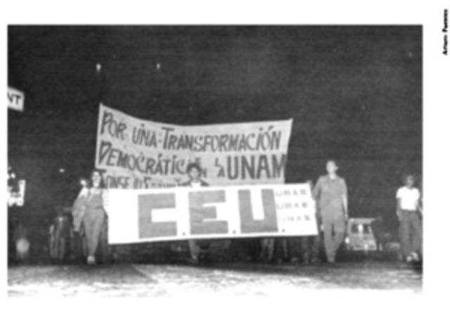 EL NACIMIENTO DEL CEU Y LA HUELGA EN LA UNAM 1986