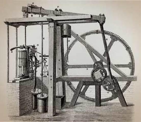 Watt's Rotary Steam Engine