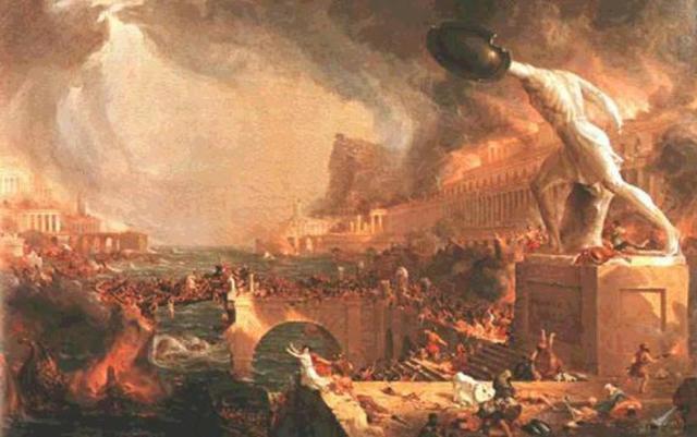 The Roman Empire Falls
