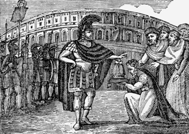 Belisario ocupa Roma.