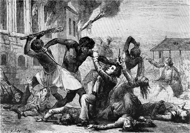 Slave rebellion in Stono South Carolina