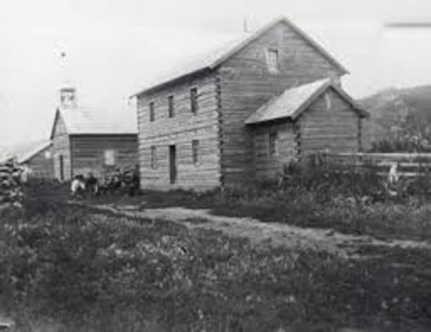 Fort Dunvegan Was Founded