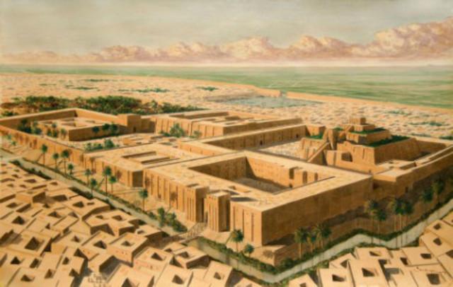 La escritura se invento en Mesopotamia (Actualmente Irak)