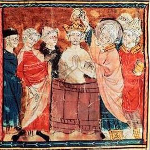 Discordias internas dentro de la dinastía de los Merovingios