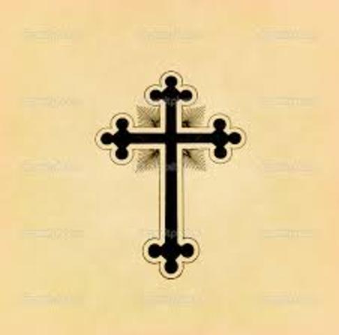 Prédica del cristianismo a los paganos frisios, en los Países Bajos.
