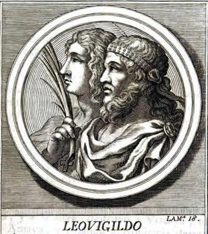 Leovigildo,ocupa Orospeda.