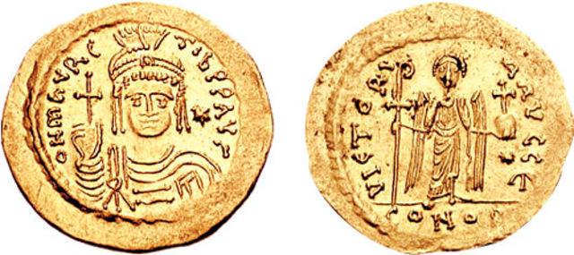 Mauricio, emperador bizantino.