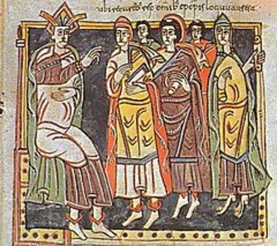 Los visigodos establecen su capital en Toledo