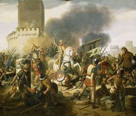 Los vikingos le ponen nuevo sitio a París.